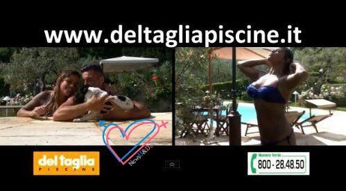 » Foto Eugenio e Francesca testimonial delle piscine Del Taglia