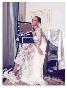 vestito sposa belen rodriguez