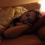 anna munafò dorme