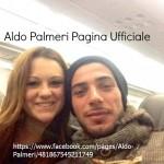Aldo in aereo