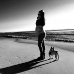 francesca e la cagnolina mia