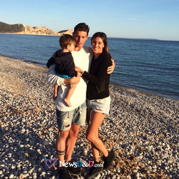 famiglia de martino in spiaggia