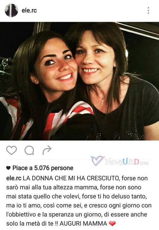 Eleonora scrive una dedica alla sua mamma per il compleanno ma…