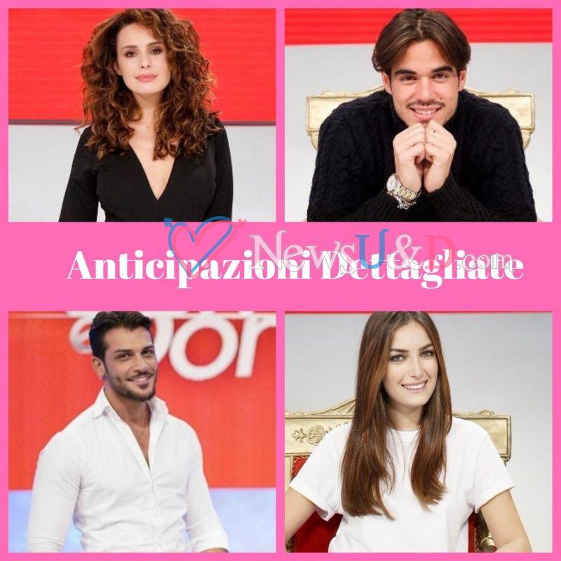 Anticipazioni Uomini e Donne Trono Classico registrato il 09/02/2018 Angela, Paolo, Alex, Alessandro ospiti