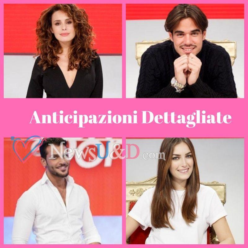 Anticipazioni Uomini e Donne Trono Classico registrato il 17/04/2018 Bacio Giordano-Nilufar, Lorenzo-Sara