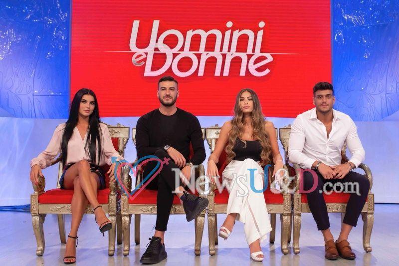 Anticipazioni Uomini e Donne Trono Classico registrato il 14/09/2018 Lorenzo si presenta nell'esterna di Luigi e Viviana