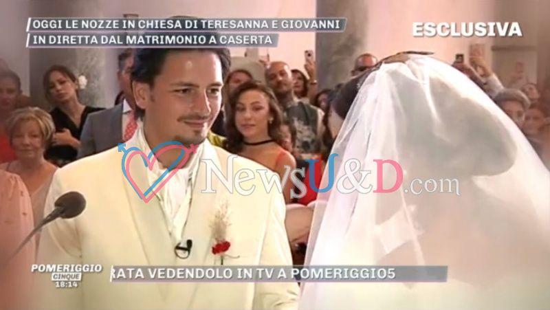 ad790b5224fe Giovanni Gentile e Teresanna Pugliese sono convolati a nozze!