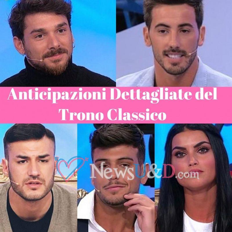 Anticipazioni Uomini e Donne Trono Classico registrato il 29/11/2018 Una proposta di matrimonio in studio!