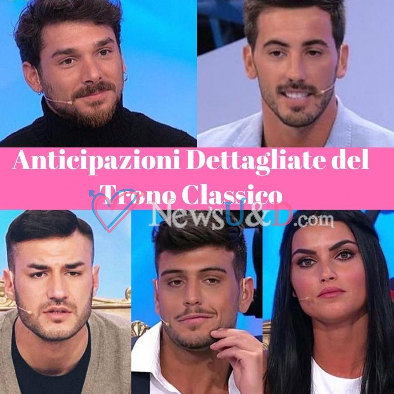 Anticipazioni Uomini e Donne Trono Classico registrato il 12/01/2019 : Scelta Andrea Cerioli