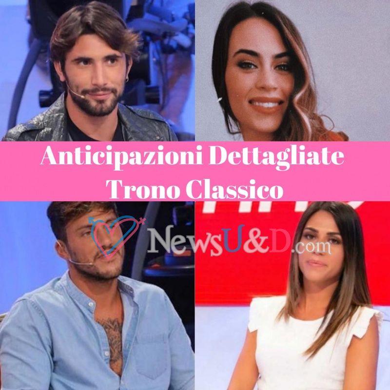 Anticipazioni Uomini e Donne Trono Classico registrato il 14-11-2019 : Giulia Quattrociocche fa la sua scelta, Giulio Raselli abbandona lo studio e…