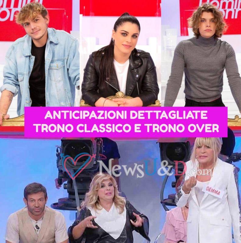 Anticipazioni Uomini e Donne Trono Classico e Trono Over registrato l'08/05/2021 : Massimiliano Mollicone ha scelto…